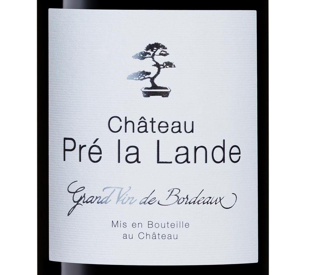 Château Pré la Lande 2019 rouge sans sulfites